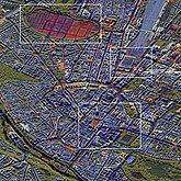 Mit RADIAN verarbeitete TerraSAR-X-Zeitserie über München. Bild: DLR